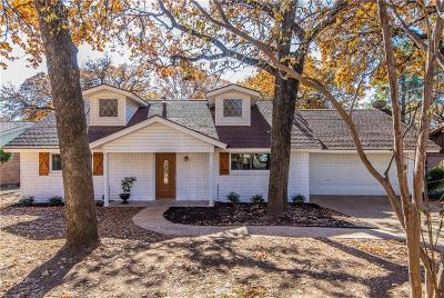 Hurst Single Family Home Active Option Contract: 721 Joanna Drive