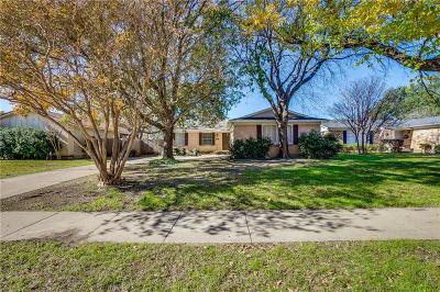 Richardson Single Family Home Active Option Contract: 1805 Nantucket Drive