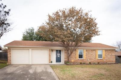 Benbrook Single Family Home Active Option Contract: 1501 Augusta Road