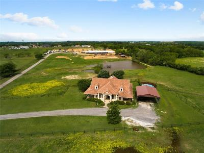 Tarrant County Farm & Ranch For Sale: 6900 Hudson Cemetery Road