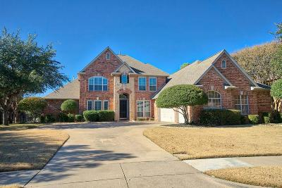 Flower Mound Single Family Home Active Option Contract: 2701 Native Oak Drive