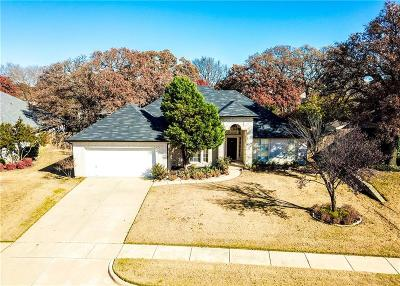 Corinth Single Family Home For Sale: 2611 Westwind Drive