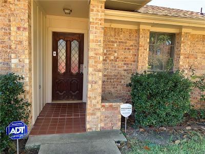 Carrollton Single Family Home Active Option Contract: 2234 San Simeon