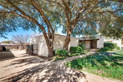Fort Worth Single Family Home Active Option Contract: 7450 Queensbury Circle