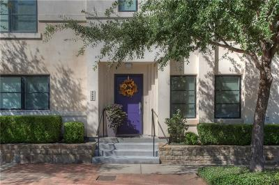 Fort Worth Townhouse For Sale: 1124 Lipscomb Street