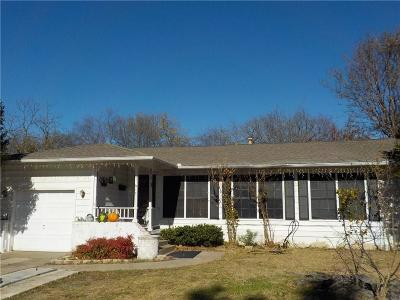 Garland Single Family Home Active Option Contract: 617 Briarwood Drive