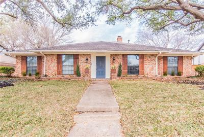 Single Family Home For Sale: 3417 Singletree Trail