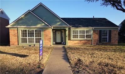 Rowlett Single Family Home For Sale: 7417 Atlantic Drive