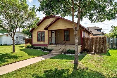 Grapevine Single Family Home Active Option Contract: 411 Washington Street
