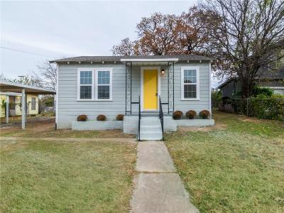 Fort Worth Single Family Home For Sale: 3109 E 12th Street
