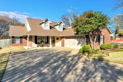 Flower Mound Single Family Home Active Option Contract: 4853 Briarcreek Drive