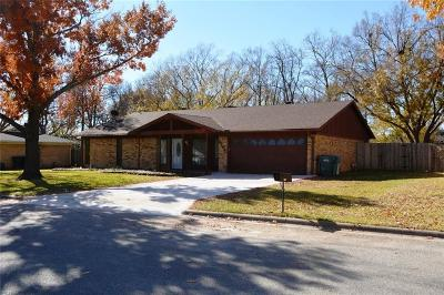 Sherman Single Family Home For Sale: 2206 Rex Cruse Drive