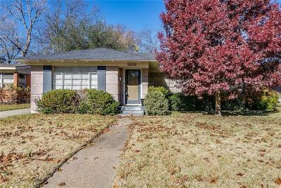 Dallas County Single Family Home For Sale: 7233 Dalewood Lane