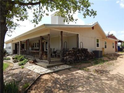 Comanche Farm & Ranch For Sale: 1401 County Road 184