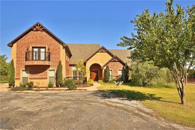 Abilene Single Family Home For Sale: 1202 Lytle Cove Road