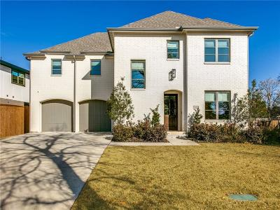 Dallas Single Family Home For Sale: 3929 Lively Lane