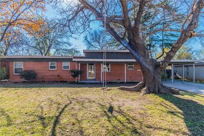 North Richland Hills Single Family Home Active Option Contract: 6730 Mike Drive