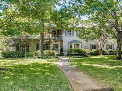 Dallas  Residential Lease For Lease: 5902 Averill Way