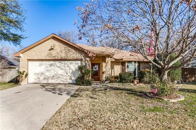 Rowlett Single Family Home Active Option Contract: 7705 Bob White Drive