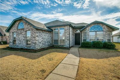 Wylie Single Family Home Active Option Contract: 1210 Old Knoll Drive