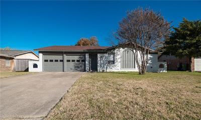 North Richland Hills Single Family Home Active Option Contract: 5640 Belfast Lane