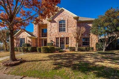 Carrollton Single Family Home For Sale: 3701 Peppertree Drive