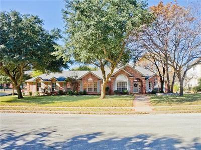 Grapevine Single Family Home Active Option Contract: 3424 Hightimber Drive