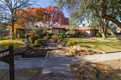 Richardson Single Family Home For Sale: 2805 W Prairie Creek Drive