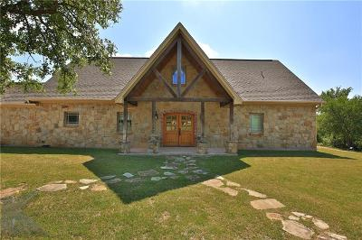 Brownwood, May, Lake Brownwood Single Family Home For Sale: 983 Deepwater Road