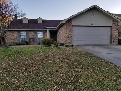Single Family Home For Sale: 4212 Huckleberry Drive
