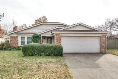 Grapevine Single Family Home Active Option Contract: 1101 Mockingbird Drive