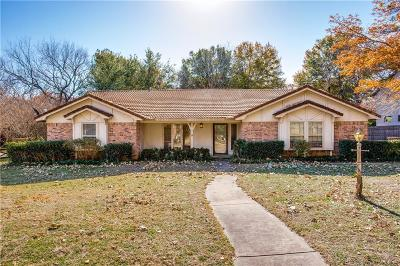 Colleyville Single Family Home Active Option Contract: 1621 Dorset Drive