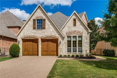 Frisco Single Family Home Active Option Contract: 24 Glistening Pond Drive