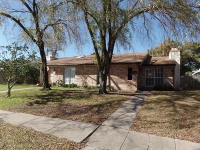 Mesquite Single Family Home For Sale: 1503 Butterfield Drive