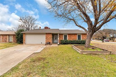 North Richland Hills Single Family Home Active Option Contract: 7229 Chatham Road