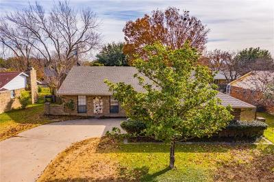 Waxahachie Single Family Home Active Contingent: 105 Noel Street