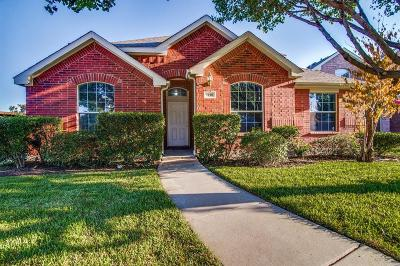 Allen Single Family Home For Sale: 1718 Mineral Springs Drive