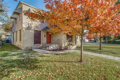 Single Family Home For Sale: 2607 Burlington