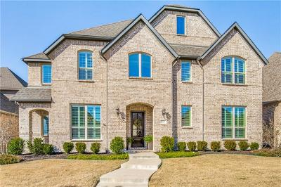 Lewisville Single Family Home For Sale: 2525 Damsel Bella Boulevard