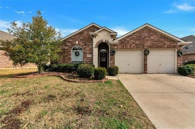 Denton Single Family Home For Sale: 4603 Trumpet Vine