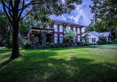 Terrell Single Family Home Active Option Contract: 309 Elm Drive