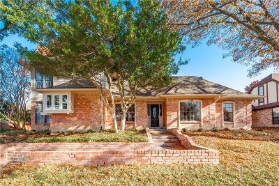 Garland Single Family Home Active Option Contract: 1530 Palm Valley Drive