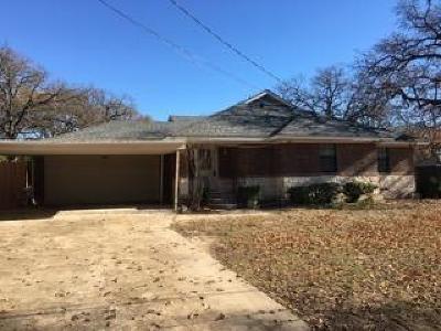 Seagoville Single Family Home Active Option Contract: 2906 E Stark Road