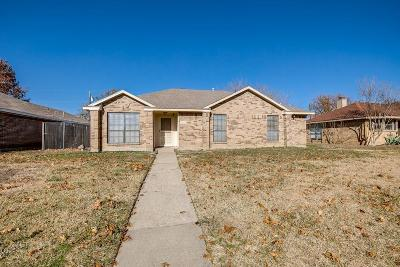 Rowlett Single Family Home Active Option Contract: 7405 Seascape Drive