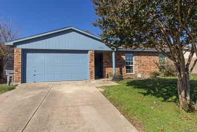Allen Single Family Home Active Option Contract: 703 Sunny Slope Drive