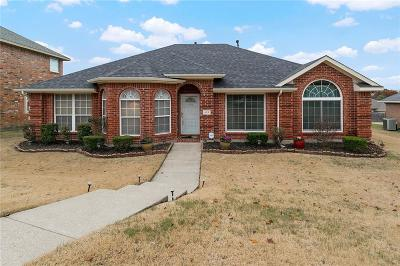 Desoto Single Family Home Active Option Contract: 527 Round Rock Drive