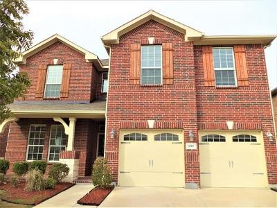 Lewisville Residential Lease For Lease: 2787 Safe Harbor Drive