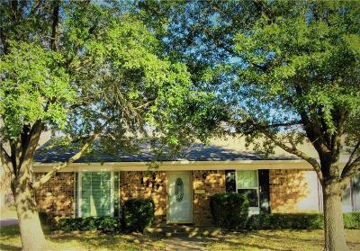 Sherman Single Family Home Active Option Contract: 2313 Diana Drive