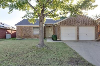 Euless Single Family Home Active Option Contract: 1203 Trenton Lane