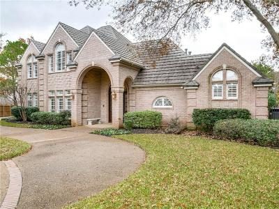 Colleyville Single Family Home Active Option Contract: 3003 Meadowview Court